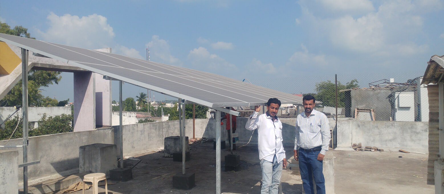 Solar Power Beed - Half Circle Solar